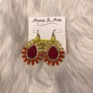 Anna and Ava earrings